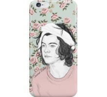 Harry full of roses iPhone Case/Skin