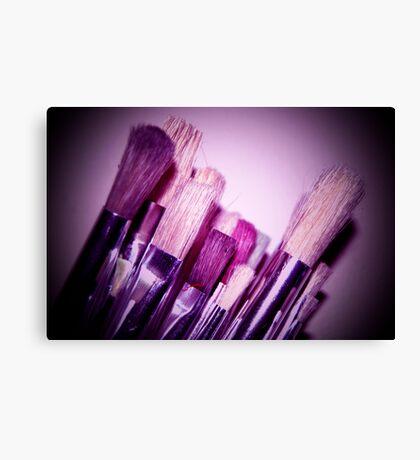 Purple Stroke Canvas Print
