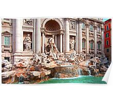 Trevi Fountain III Poster