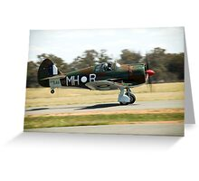 C.A.C  BOOMERANG  RAAF  WW2  Fighter  Aircraft  Greeting Card