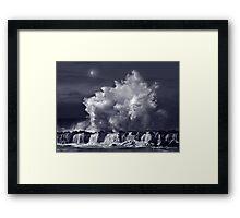North Shore Thunder Framed Print