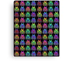 Color Backpacks Canvas Print
