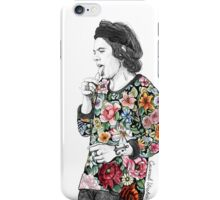 Floral Harry iPhone Case/Skin
