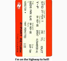 Glasgow train ticket ACDC T-Shirt