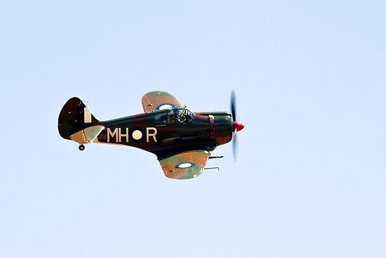 C.A.C  BOOMERANG  RAAF  WW2  Fighter  Aircraft   by aircraft-photos