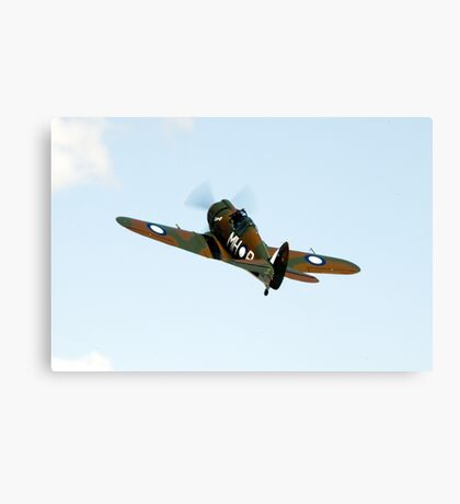 C.A.C  BOOMERANG  RAAF  WW2  Fighter  Aircraft   Canvas Print
