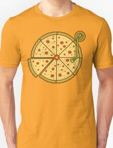 Pizza Vinyl Unisex T-Shirt