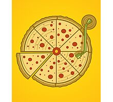 Pizza Vinyl Photographic Print