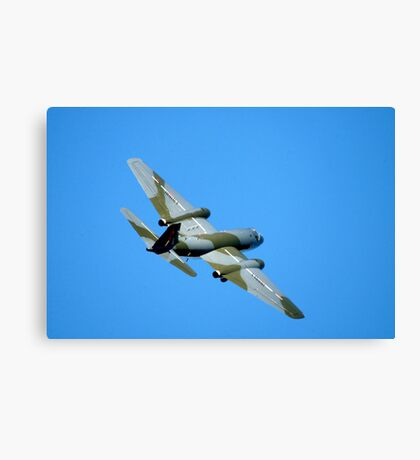 English Electric CANBERRA  Bomber  Aircraft  Canvas Print