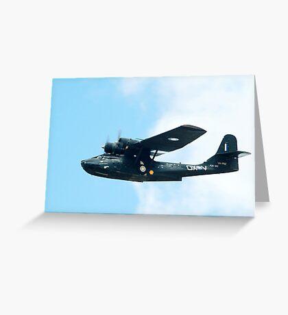 CATALINA  Flying Boat Greeting Card