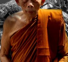 monk Sticker