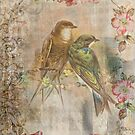 Antique Vintage Birds by laxwings