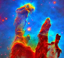 Pillars of Creation by Sunwatcher