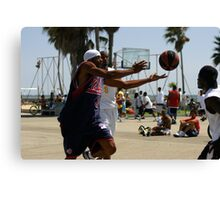 HOOPS IN VENICE 9 Canvas Print
