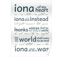 Iona of my heart... Poster