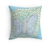 Bubblefly Throw Pillow