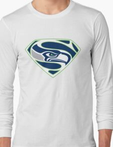 Seahawk and Superman T-Shirt