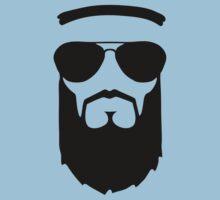 beard muslim face head sunglasses by huggymauve
