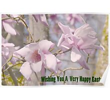 Wishing You a very happy Easter Poster