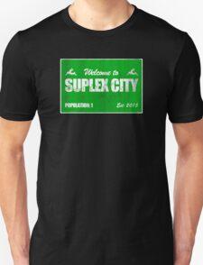 Welcome to Suplex City Pop 1 T-Shirt