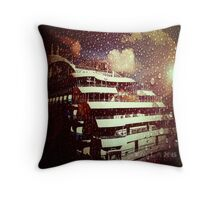 Full Moon Cruiser Throw Pillow