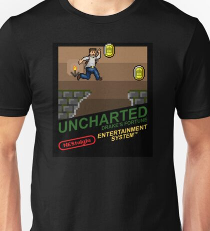 NEStalgia: Uncharted: Drake's Fortune Unisex T-Shirt