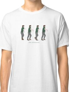New Girl - Panic Moonwalking Classic T-Shirt