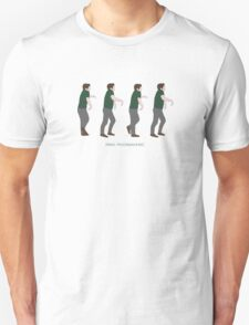 New Girl - Panic Moonwalking T-Shirt