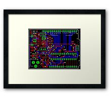 Arduino PCB  Framed Print