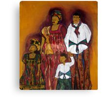Sawa family Canvas Print