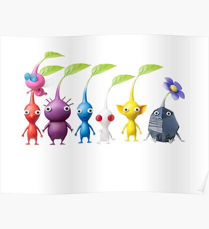 pikmin plain Poster