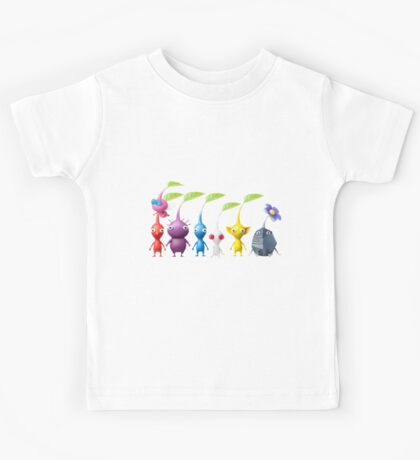 pikmin plain Kids Tee