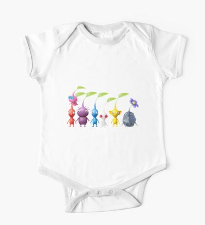 pikmin plain One Piece - Short Sleeve
