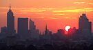 Sunset over Melbourne 7 by Paige