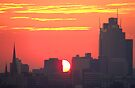 Sunset over Melbourne 9 by Paige