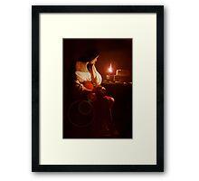 Mary Magdalin Remembering Jesus. Framed Print