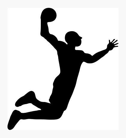 basket basketball dunk Photographic Print