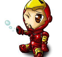 Baby Iron Man by ross-Gardiner