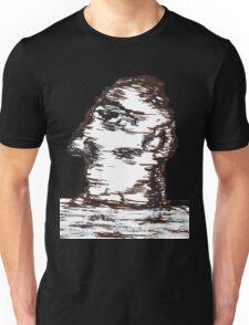 Lone Moon Head Unisex T-Shirt
