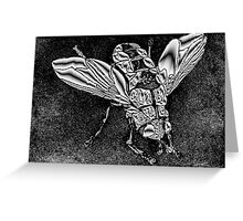 Metallica Fly Greeting Card