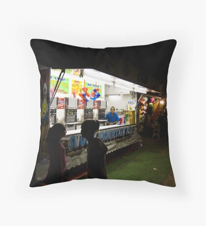 The Carny Throw Pillow