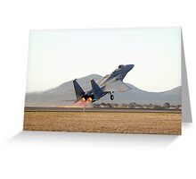 McDonnell Douglas  F-15  EAGLE  Greeting Card