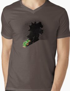 Becoming a Legend - Bowser Mens V-Neck T-Shirt
