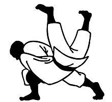 judo  ju jitsu Photographic Print