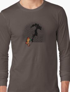 Becoming a Legend- Samus Aran Long Sleeve T-Shirt