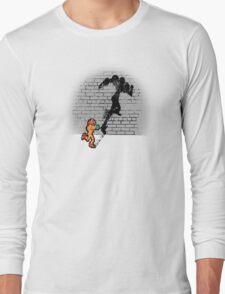 Becoming a Legend- Samus Aran Long Sleeve T-Shirt