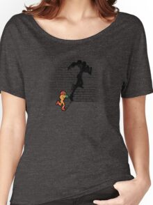 Becoming a Legend- Samus Aran Women's Relaxed Fit T-Shirt