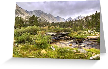 Crossing Ruby Creek by Justin Mair