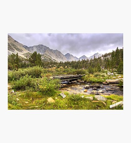 Crossing Ruby Creek Photographic Print