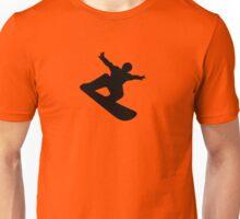 snow snowboard sport extrem Unisex T-Shirt